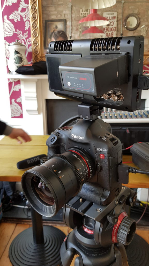 With Samyang T1.5 35m on Manfrotto 504HD fluid head pro tripod