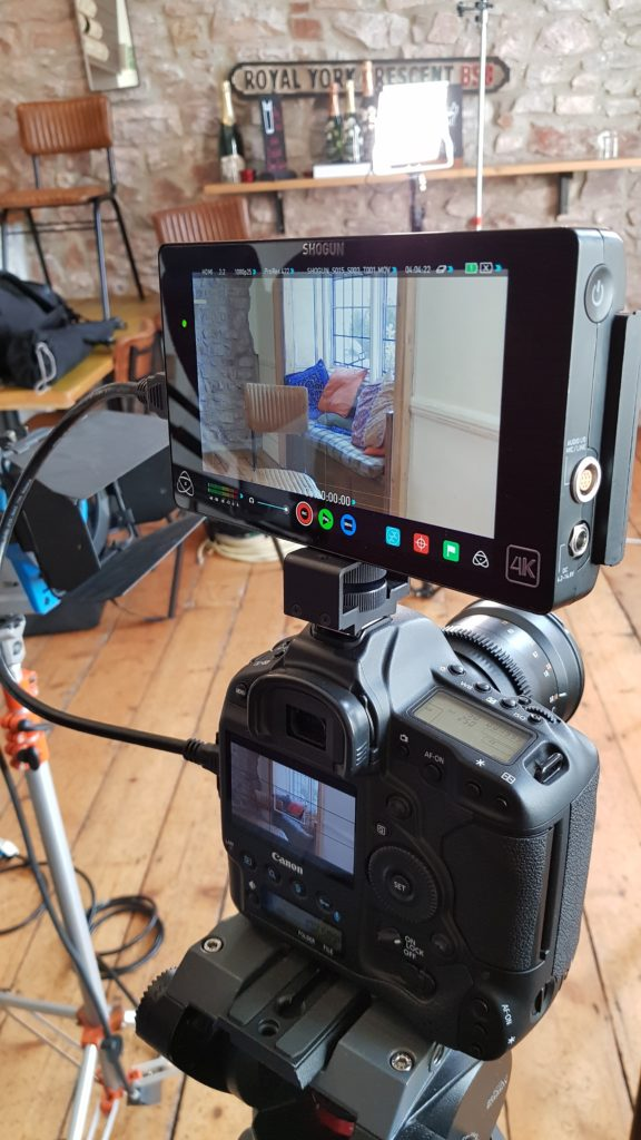 Canon 1DC with Atomos Shogun